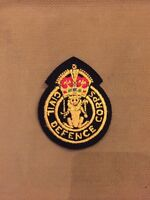 civil defence corps insgina badge post ww2 home front British unissued Cold War
