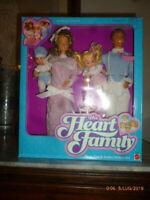 1986 Famiglia Cuore Mamma Papà The Heart Family Deluxe Set hawaiian superstar