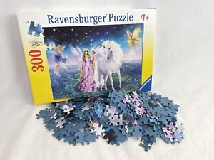 Ravensburger Magical Unicorn 300 Piece Jigsaw Puzzle Age 9+ Fairy Complete N249