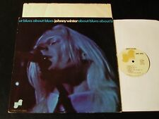 Johnny Winter - About Blues - Original 1970 Janus LP - CLEAN