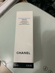 Chanel Hydra Beauty Serum 1.7oz, 50ml Skincare Serum Soothing Hydrating NIB