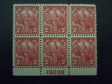 "1927 #643 Vermont Plate Block Mnh Og Vf Cv $55.00 ""Includes New Mount"" #2"