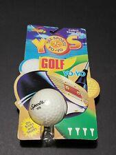 """Vintage Retro 1989 YOS """"The Radical Yo-Yo"""" GOLF BALL YO-YO by Spectra Star - NIP"""