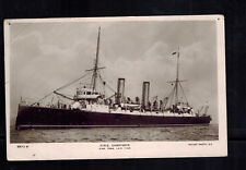 1906 England HMS Charybdis SHip Picture Postcard Cover to Kent