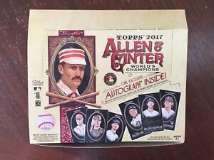 2017 Allen & Ginter X Black Edition Pick from List Finish Your Set 1-250