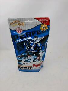 Hot Wheels HWTF Team Blue Puzzle  24 Pieces