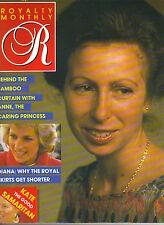 PRINCESS ANNE UK Royalty Magazine 1/88 Vol 7 No 4 PRINCESS DIANA