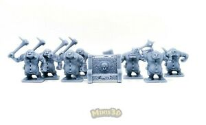 Against the Ogre Horde + Throne EXCLUSIVE!! - Heroquest - Minis3D
