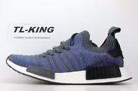 Adidas Originals NMD R1 Stlt PK Boost Hi-Res Blue Black Coral CQ2388 $170 Fx