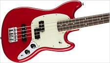 Fender Mustang P/J Bass Torino Red