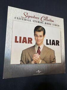 Liar Liar - Jim Carrey - Signature Collection - CLV and CAV Laserdisc