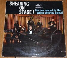 THE GEORGE SHEARING QUINTET On Stage Live LP Capitol EMI vinyl record JAZZ 1959