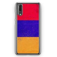 Huawei P20 Hard Cover Hülle Armenien Grunge Armenia Hajastan Motiv Design Handy