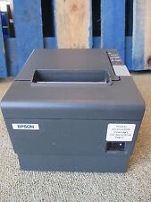 Epson TM-T88IV M129H Thermal Ticket Receipt POS Printer RS232 Serial BLACK + PSU