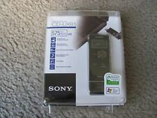 Brand New Sony ICD-UX81 2GB (575 Hours) Digital Voice Recorder Black with MP3