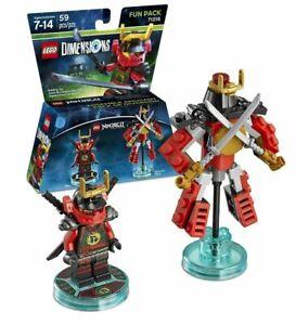 LEGO Dimensions Ninjago Fun Pack Nya & Samurai Mech 71216