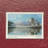 España año 2000 700º Aniversario de la Villa de Bilbao Nº 3714 MNH