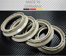 4X centering ring 72.5x57.1mm f. Alloytec ASA ICW RH Alurad Smoor X-Tra Wheels