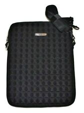 Black REBECCA MINKOFF Purse Crossbody Fits iPad 2 3 4 Case Travel Bag 3D Pyramid