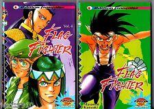 LOT 2 FLAG FIGHTER n°4 et 5 # MASAOMI KANZAKI # 1999 MANGA PLAYER