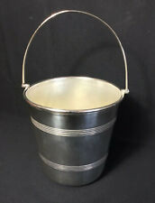 More details for vintage midcentury 1950s epns silverplate ice bucket unett england cocktail bar