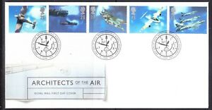 Great Britain 1997 Architects of the Air First Day Cover Edinburgh 358b Unad
