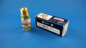 Genuine IBEDA Fuel (Acet/LPG)Flashback arrestor - Torch end - Made in Germany