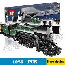Hot! Creator series the Emerald Night model building blocks Steam trains Toys