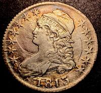 1813 Capped Bust Half Dollar 50c Rare R-4 O-101a 50C/UNI XF-AU High Grade Detail