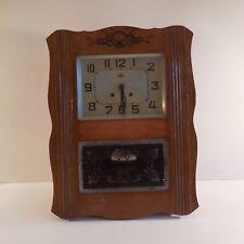 Horloge carillon clock chime FFR MORBIER art nouveau déco 1920 1940 France