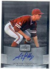 2012 Leaf Metal Draft STEPHEN PISCOTTY ROOKIE AUTO!