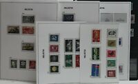 Switzerland 1946-59 Strong Collection Incl. Pro-Juventute Mint and VFU Stamps