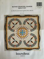 FPP Charted Course Quilt Kit by Deb Karasik in Batik Fabric