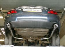 "JAGUAR S Type R 4.2 V8 POSTERIORE SILENZIATORE elimina i tubi - 3.5"" tubo di coda"