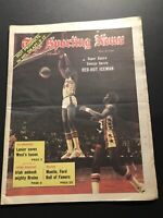 1974 Sporting News VIRGINIA Squires GEORGE GERVIN Red Hot ICE Man ABA No Label