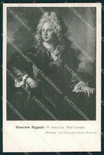 Firenze Città Mostra Ritratto Italiano 1911 Rigaud cartolina XB5000