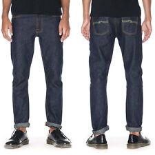 Nudie Herren Slim Fit Selvedge Jeans - Lean Dean Dry Bamboo Selvage - UVP* 299€