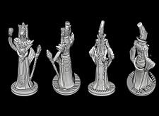 Tabletop Miniatures 2 Ratsmitglieder 28mm For Warhammer 40k/Infinity Etc