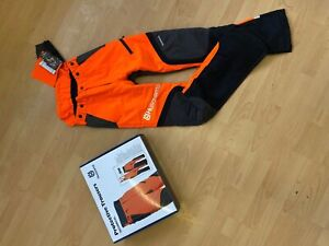 Schnittschutzhose Husqvarna Bundhose Technical Gr. 46 + 10cm Protective Trousers
