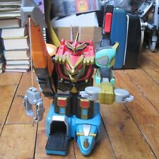 Power Rangers Large Mega Zord Playset Bandai Red w Weapon Arms Free UK P+P
