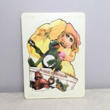 Vintage Fisher-Price Muppets Puzzle M.S. Piggy