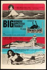 Original Title RUSS MEYER HOW MUCH LOVING 40x60 COMMON-LAW CABIN CONJUGAL CABIN