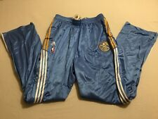 M72 New ADIDAS Climacool Denver Nuggets High Quality Warm Up Pants MEN'S 4XL +6