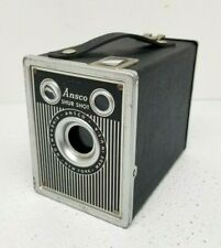 Antique Agfa Ansco Shur Shot Box 120 Roll Film Camera Works