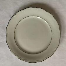 "Winterling Bavaria Western Germany 6"" Bread & Butter Plate Silver Trim"