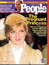 People Magazine November 23, 1981 Princess Diana Ed Asner Mary Martin Happy Days