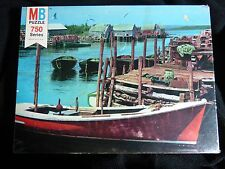 ESSEX 750 Series Milton Bradley MB Puzzle Vintage Sealed Tied Up at Dock 1977