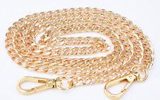 Purse Gold Chain Strap Handle Shoulder Crossbody Handbag Bag Metal Replacemen