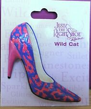 Just The Right Shoe - Wild Cat brooch (see my other items for 9 more brooches)