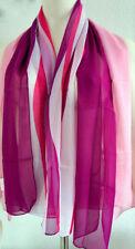 Écharpes et châles foulard rose pour femme